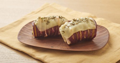 ベーコンチーズのベイクドスイートポテト