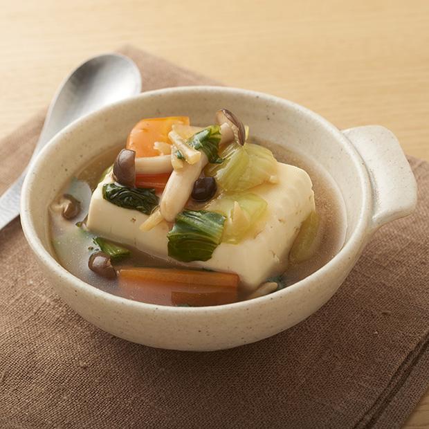アレンジレシピ「あんかけ豆腐」/「あんかけ麺」