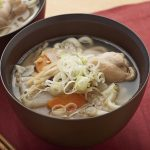 アレンジレシピ うどん入りサムゲタン風スープ