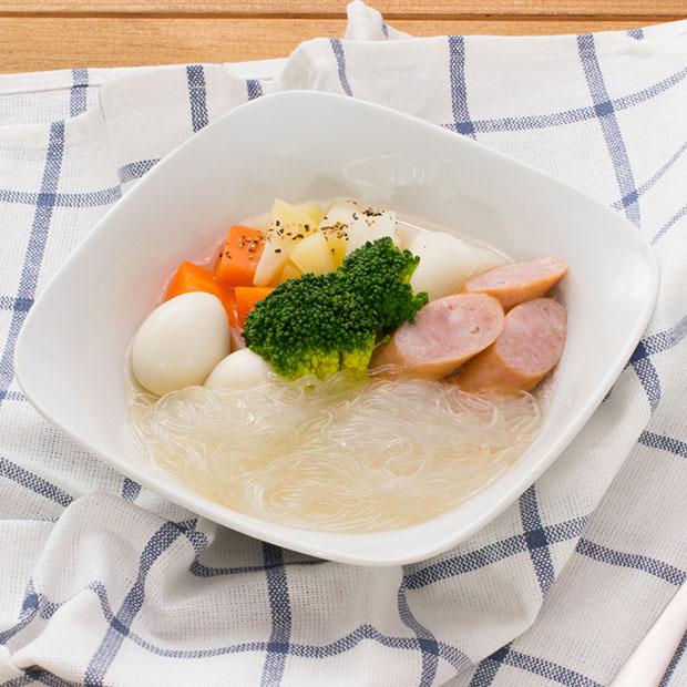 アレンジレシピ「春雨スープ」