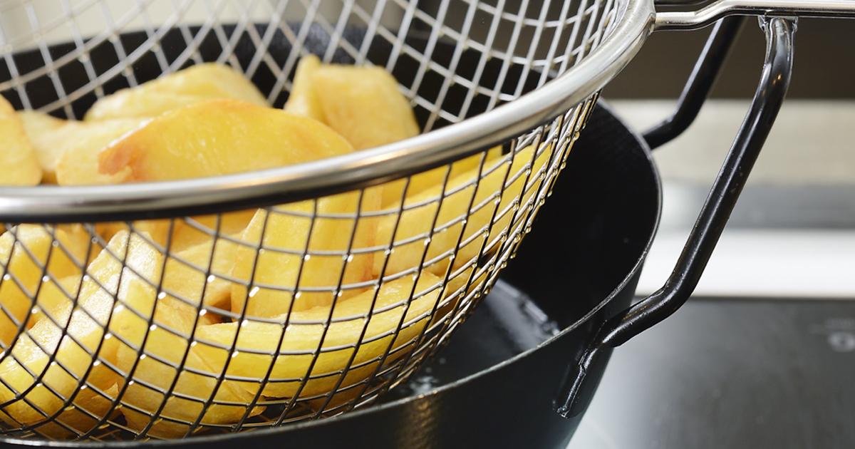 la base(ラバーゼ)鉄揚げ鍋22cmセット