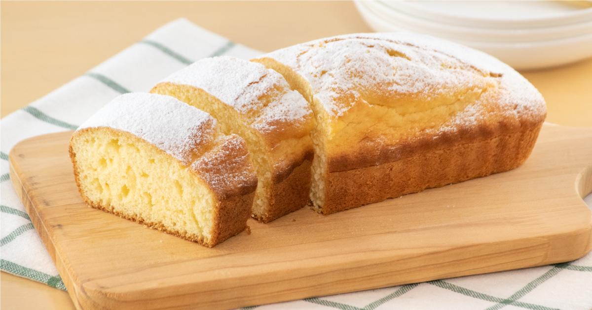 しっとりヨーグルトパウンドケーキ